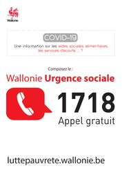 Campagne 1718 - Urgence sociale
