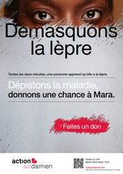 Campagne 2021 - Action Damien : démasquons la lèpre