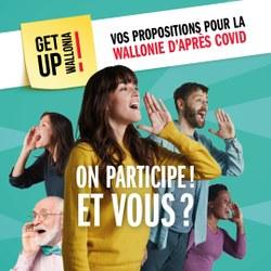 Get up Wallonia : vos propositions pour la Wallonie d'après COVID-19
