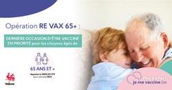 La campagne s'accélère et relance la vaccination des plus de 65 ans